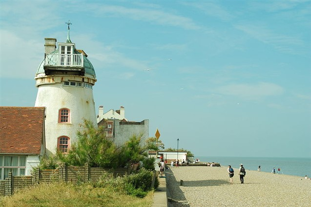 Aldeburgh Lighthouse and Beach