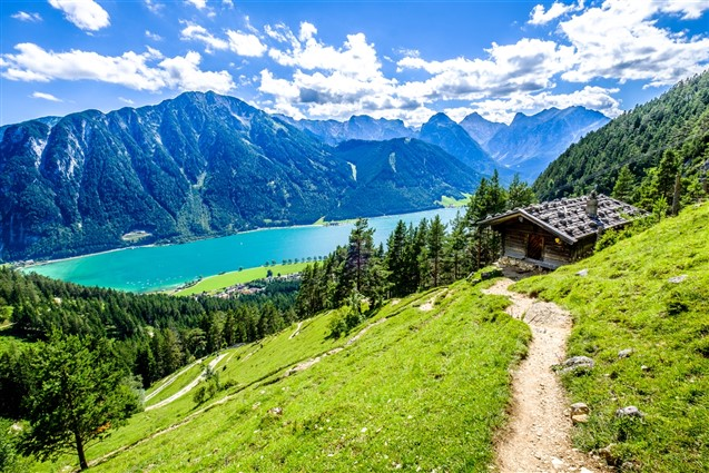 View of Lake Achensee
