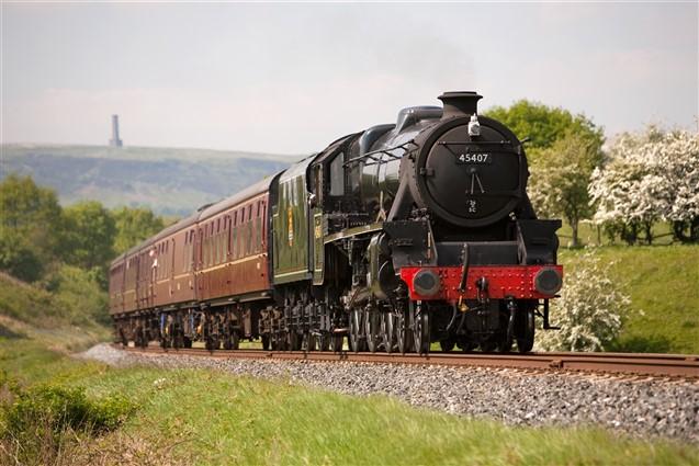 Steam Train on the East Lancashire Railway