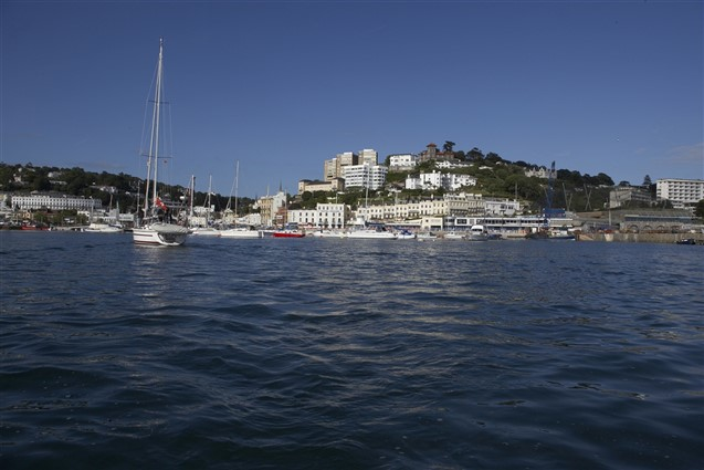 View of Torquay from the Sea