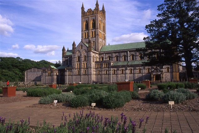 External view of Buckfast Abbey