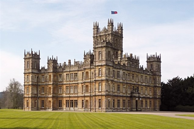 Exterior Image of Highclere Castle
