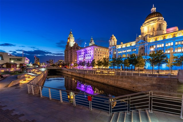 PierHead, Liverpool at Dusk