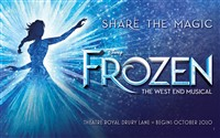 Frozen The Musical at the Theatre Royal Drury Lane