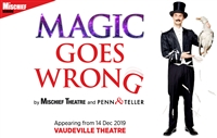 Magic Goes Wrong - Evening, Vaudeville Theatre