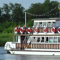 Norfolk Broads Mississippi Paddle Steamer