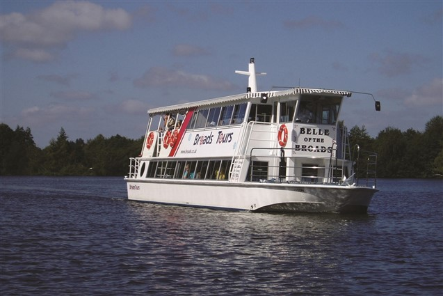 Broads Tours Belle of the Broads Boat