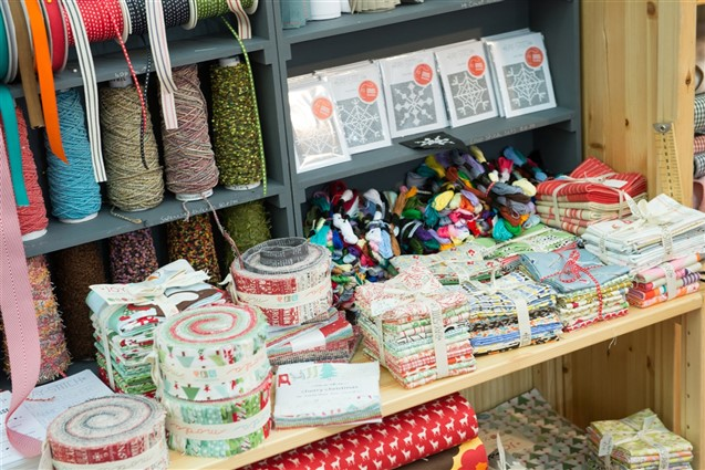 Craft Supplies at the Knitting & Stitching Show