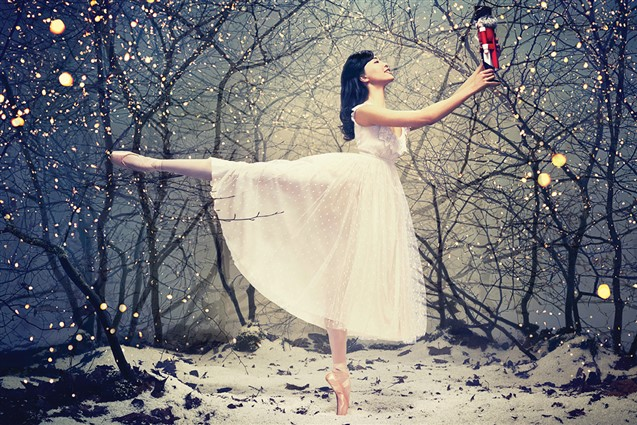 The Lead Dancer from The English National Ballets Performance of the Nutcracker